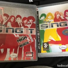 Videojuegos y Consolas: LOTE JUEGOS PS3 DISNEY SING IT. Lote 84604660