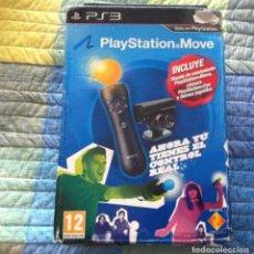 Videojuegos y Consolas: SONY PLAYSTATION MOVE CONTROLLER + CAMARA PS3 + DEMOS. Lote 85057936