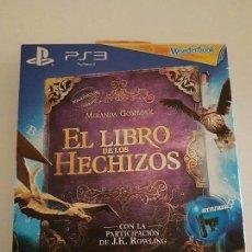 Videojuegos y Consolas: WONDERBOOK EL LIBRO DE LOS LOS HECHIZOS PLAYSTATION 3 NUEVO. Lote 86982896