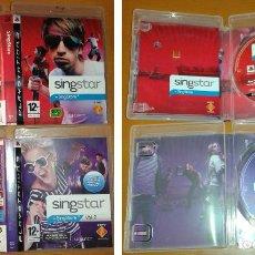 Videojuegos y Consolas: SINGSTAR (VOLUMEN INGLÉS) + SINGSTAR VOL.2 (VOLUMEN ESPAÑOL). Lote 87584772
