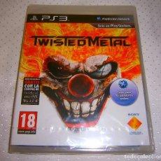 Videojuegos y Consolas: TWISTED METAL PS3 VERSION ESPAÑOLA NUEVO Y PRECINTADO [DESCATALOGADO]. Lote 91855305