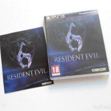 Videojuegos y Consolas: RESIDENT EVIL 6 - PS3 - EN ESPAÑOL - JUEGO COMO NUEVO - (SONY PLAYSTATION 3). Lote 95770256