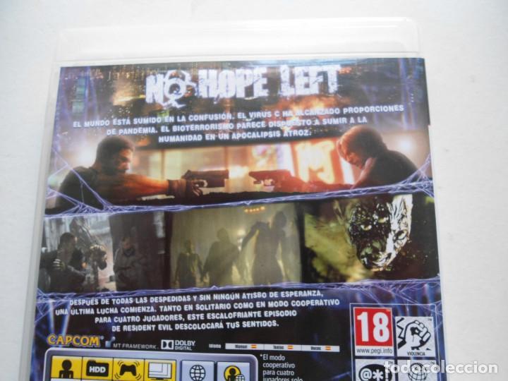 Videojuegos y Consolas: RESIDENT EVIL 6 - PS3 - EN ESPAÑOL - JUEGO COMO NUEVO - (Sony PlayStation 3) - Foto 5 - 95770256