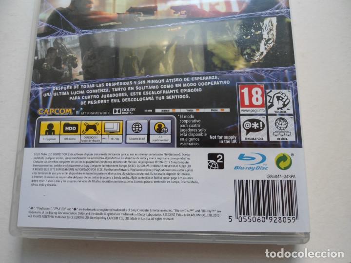Videojuegos y Consolas: RESIDENT EVIL 6 - PS3 - EN ESPAÑOL - JUEGO COMO NUEVO - (Sony PlayStation 3) - Foto 6 - 95770256