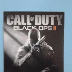 Videojuegos y Consolas: CALL OF DUTY BLACK OPS II (INSTRUCCIONES). Lote 93075935