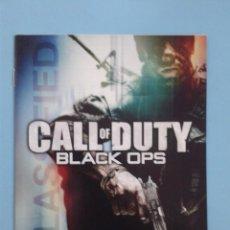 Videojuegos y Consolas: CALL OF DUTY BLACK OPS (INSTRUCCIONES). Lote 93077960