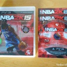Videojuegos y Consolas: NBA 2K15 PS3. Lote 93865565