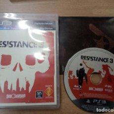 Videojuegos y Consolas: RESISTANCE 3 - PS3 PLAYSTATION 3 PAL ESP. Lote 94051750