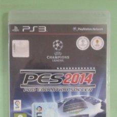 Videojuegos y Consolas: PES 2014. PS3. Lote 95151183