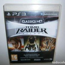 Videojuegos y Consolas: TOMB RAIDER HD TRILOGY PS3. Lote 95868455