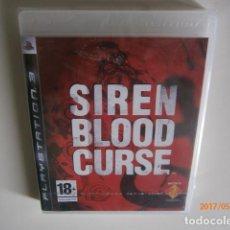 Videojuegos y Consolas: SIREN BLOOD CURSE PS3 NUEVO. Lote 95868587