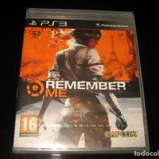 Videojuegos y Consolas: REMEMBER ME PS3 PAL ESPAÑA PRECINTADO CAPCOM. Lote 95904959