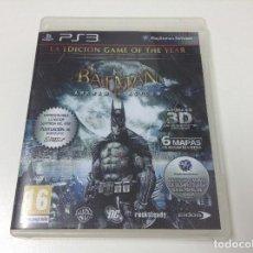 Videojuegos y Consolas: BATMAN ARKHAM ASYLUM GOTY EDICION GAME OF THE YEAR JUEGO DEL AÑO. Lote 95946931