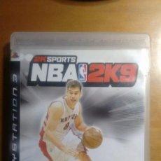 Videojuegos y Consolas: NBA 2K9 PS3 PLAYSTATION 3. Lote 95962635