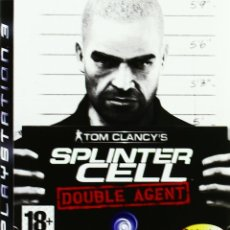 Videojuegos y Consolas: SPLINTER CELL DOUBLE AGENT PS3. Lote 96052063