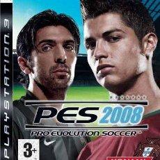 Videojuegos y Consolas: PES 2008 PS3. Lote 96052108