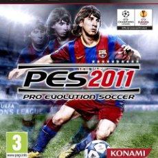 Videojuegos y Consolas: PES 2011 PS3. Lote 96052120