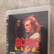 Videojuegos y Consolas: ACDC ROCKBAND PLAYSTATION 3. Lote 96187455
