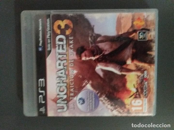 UNCHARTED 3 LA TRAICIÓN DE DRAKE (Juguetes - Videojuegos y Consolas - Sony - PS3)