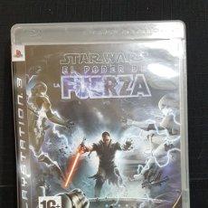 Videojuegos y Consolas: PS3 STAR WARS EL PODER DE LA FUERZA. Lote 97464414