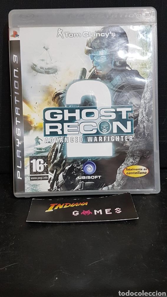 PS3 GHOST RECON ADVANCED WARFIGHTER 2, usado segunda mano