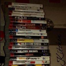 Videojuegos y Consolas: MEGALOTE DE 31 JUEGOS PS3 SONY PLAYSTATION 3 + MANDO VER DESCRIPCION Y FOTOS.. Lote 97721567