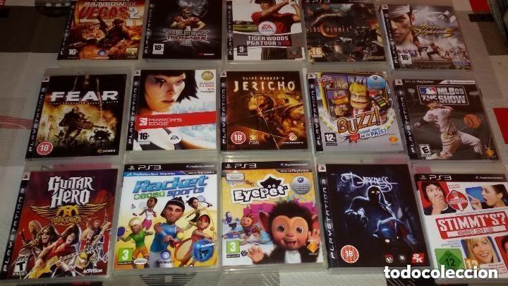 Videojuegos y Consolas: MEGALOTE DE 31 JUEGOS PS3 SONY PLAYSTATION 3 + MANDO VER DESCRIPCION Y FOTOS. - Foto 2 - 97721567