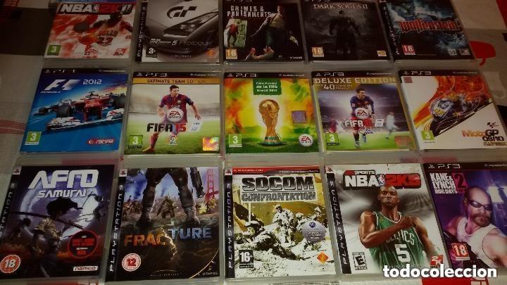 Videojuegos y Consolas: MEGALOTE DE 31 JUEGOS PS3 SONY PLAYSTATION 3 + MANDO VER DESCRIPCION Y FOTOS. - Foto 3 - 97721567