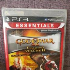 Videojuegos y Consolas: GOD OF WAR COLLECTION VOLUMEN II PS3. Lote 97848139