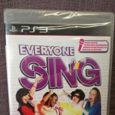 Videojuegos y Consolas: EVERYONE SING PS3. Lote 97848879