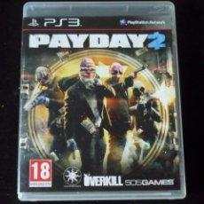 Videojuegos y Consolas: PAYDAY 2- VIDEOJUEGO- PS3. Lote 99060351