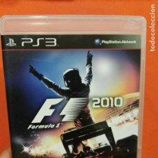 Videojuegos y Consolas: JUEGO PS3 F1 2010 . Lote 99829227