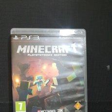 Videojuegos y Consolas: PS3 MINECRAFT PS3 EDITION. Lote 100639963