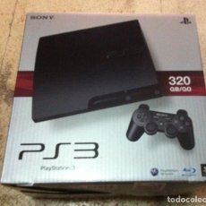 CAJA VACIA DE CONSOLA CON INTERIORES PS3 320 GB PLAYSTATION 3 PLAY STATION 3 KREATEN