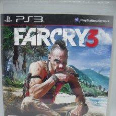 Videojuegos y Consolas: JUEGO PLAYSTATION 3 FARCRY 3. Lote 102500175