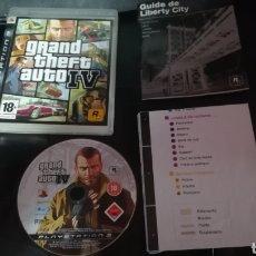 Videojuegos y Consolas: GTA IV, GRAND THEFT AUTO IV, PS3, PAL, COMPLETO. Lote 102596044