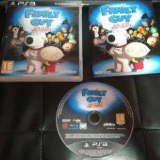 Videojuegos y Consolas: FAMILY GUY, PS3, PAL ESPAÑA, PADRE DE FAMILIA. Lote 132731859