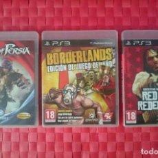 Videojuegos y Consolas: JUEGOS PS3. Lote 102598999