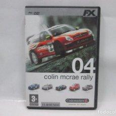 Videojuegos y Consolas: JUEGO PC - COLIN MCRAE RALLY 04 - FUNCIONANDO . Lote 102761779