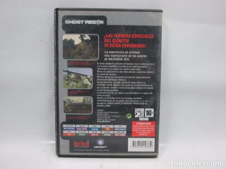 Videojuegos y Consolas: JUEGO PC - TOM CLANCYS - GHOST RECON - CASTELLANO - FUNCIONANDO - Foto 2 - 102761967