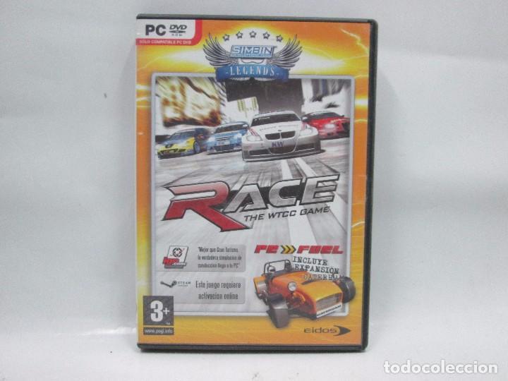 JUEGO PC - RACE THE WTCC GAME - FUNCIONANDO (Juguetes - Videojuegos y Consolas - Sony - PS3)