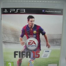 Videojuegos y Consolas: JUEGO PLAYSTATION 3 FIFA 15. Lote 103054195