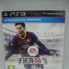 Videojuegos y Consolas: JUEGO PLAYSTATION 3 FIFA 14. Lote 103054339
