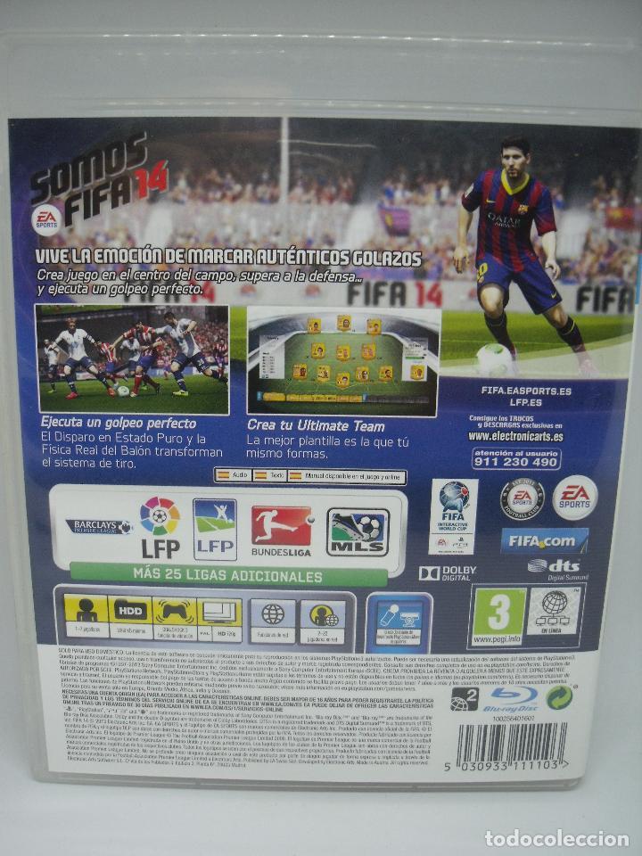 Videojuegos y Consolas: JUEGO PLAYSTATION 3 FIFA 14 - Foto 2 - 103054339