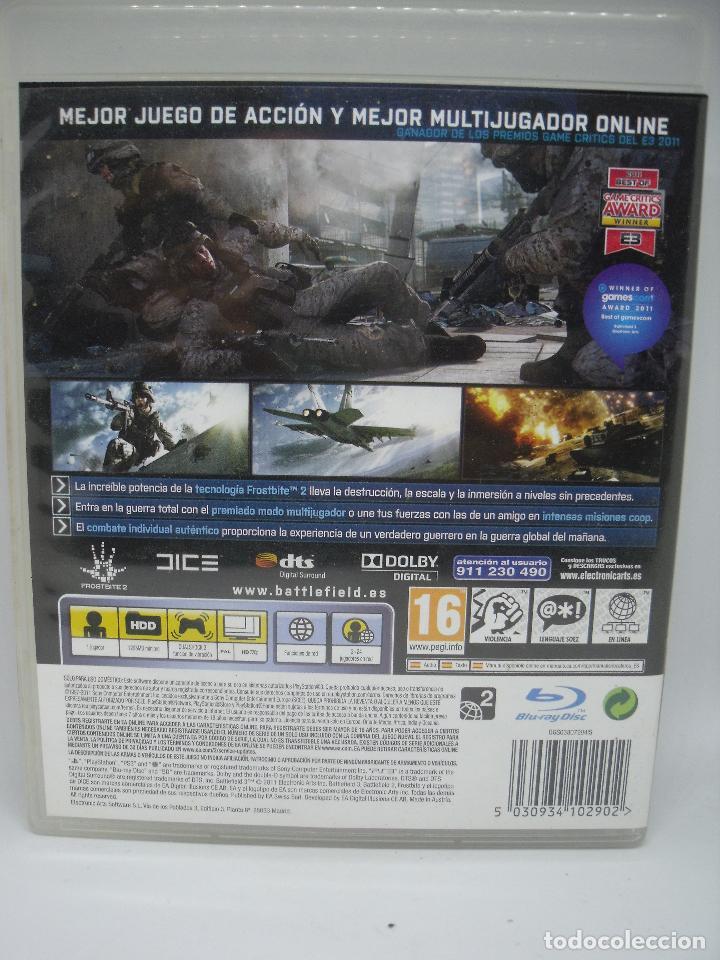 Videojuegos y Consolas: JUEGO PLAYSTATION 3 BATTLEFIELD - Foto 2 - 103055147