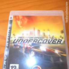 Videojuegos y Consolas: NEED FOR SPEED, UNDERCOVER - PLAYSTATION 3 PS3 - PAL -. Lote 103156319