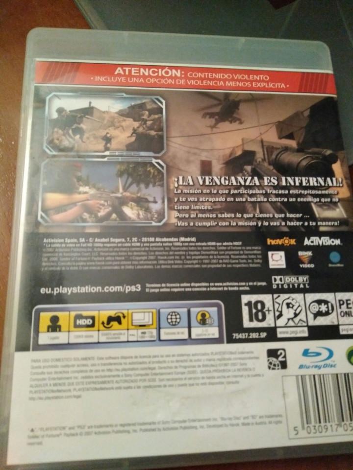 Videojuegos y Consolas: juego de ps3 soldier of fortune - Foto 2 - 103871867
