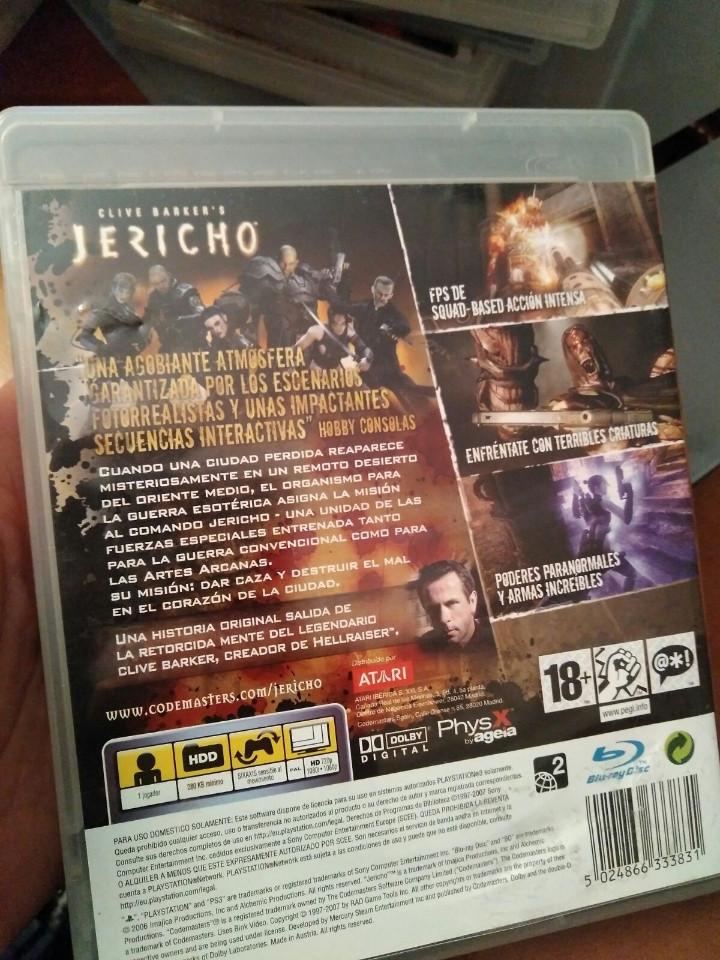 Videojuegos y Consolas: juego de ps3 jericho - Foto 3 - 103874679