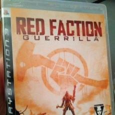 Videojuegos y Consolas: JUEGO DE PS3 RED FACTION . Lote 103878651