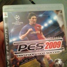 Videojuegos y Consolas: JUEGO DE PS3 PES 2009 . Lote 103879763